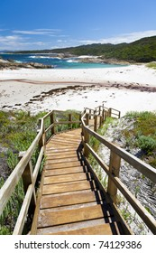 Lights beach near Denmark Western Australia