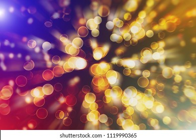 Lights blurred bokeh background. Bokeh defocused lights.