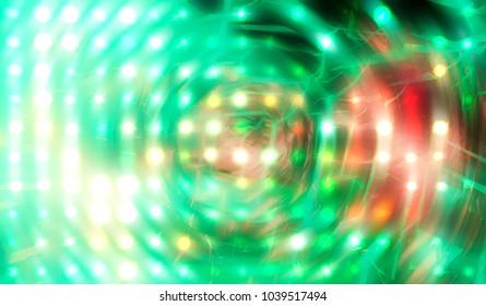Lights Multicolored Background. illustration beautiful.