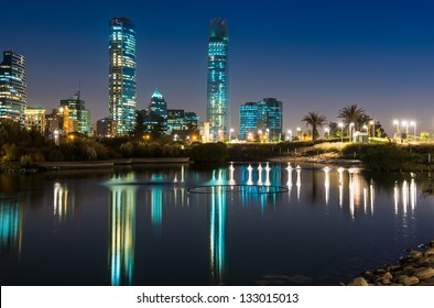 Lights of the Night at Santiago de Chile