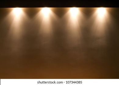 lights on the wall