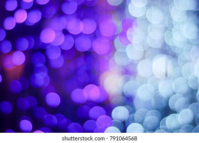 lights out of focus, the bokeh night blur focus slow speed shutter electricity light in holiday