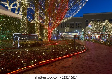 the lights of the ozarks in downtown fayetteville arkansas