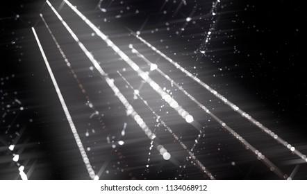 Lights White And Black Background. illustration beautiful.