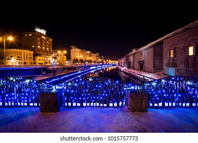 Light-Up Festival at Otaru Canal in Winter