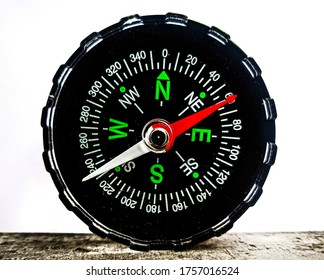 Lightweight Compass used as direction indicator.