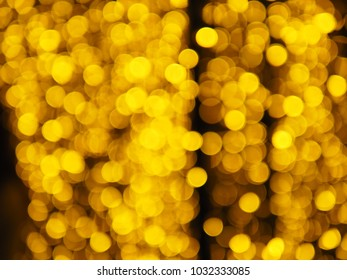 Ligth Of Bokeh, Blurred image