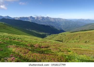 Ligurische Alpen entlang der französisch-italienischen Grenze