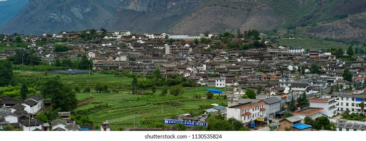 LIJIAN, CHINA - MAY 16: The village in the famous LiJian, China on May 16 2014. Lijian is one of the biggest and well-preserved old town in China.