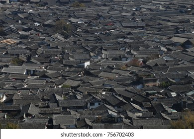 Lijiang city, China, View from above