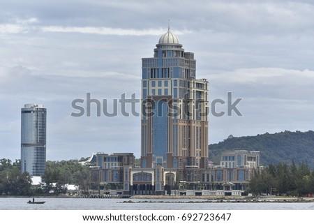 Likas Kota Kinabalu Sabah Malaysia February Stockfoto Jetzt