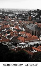 Like a postcard, at Heidelberg