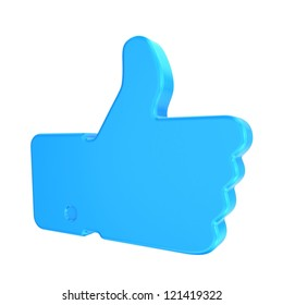 Like. Thumb up
