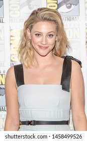 """Lili Reinhart attends 2019 Comic-Con International CW's """"Riverdale"""" at Hilton Bayfront, San Diego, California on July 21 2019"""
