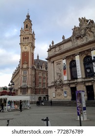 Lille City Centre, France, Europe, Friday, 8th, December, 2017