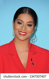Lilly Singh at the Nickelodeon's 2019 Kids' Choice Awards held at the Galen Center in Los Angeles, USA on March 23, 2019.