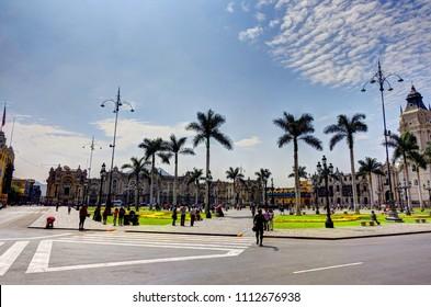 Lima landmark, Peru