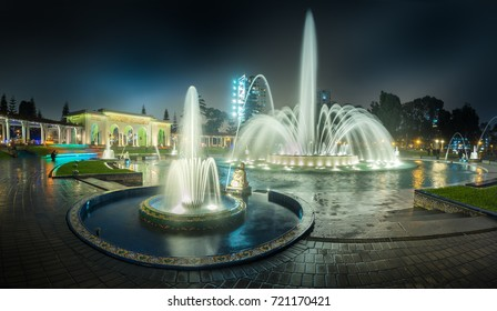 Lima, Peru: Fountain of the Magic water circuit park, in Lima.