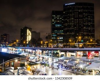 Lima, Peru January 17th, 2018 : Do not forget to explore the Larcomar shopping center, the most visited of the district of Miraflores, with the best shops and the best views of the city