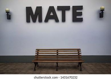 Lima, Peru - Nov 18, 2018: Peruvian photographer Mario Testino's MATE gallery