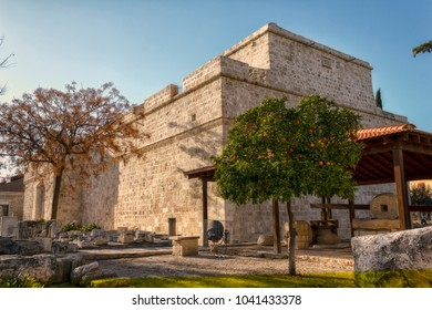 LIMASSOL, CYPRUS - MARCH 11, 2016:The medieval Limassol Castle, Cyprus.