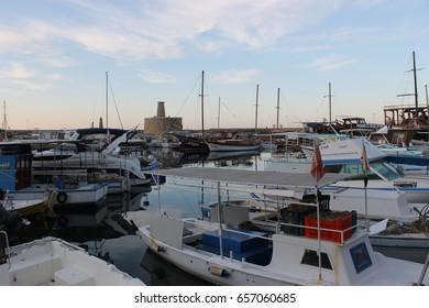 "Limassol, Cyprus - Nov 22: Yachts in the marina ""Limassol"" , on Nov 22, 2015 in Limassol, Cyprus."