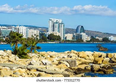 Limassol embankment, Cyprus