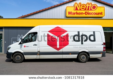 b1842b68a06aee LIMBACHOBERFROHNA GERMANY April 28 2018 Dpd Stock Photo (Edit Now ...