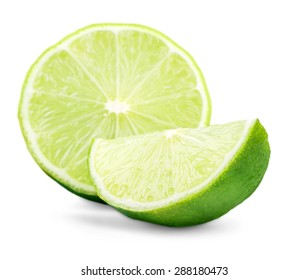 Lime, food, raw.