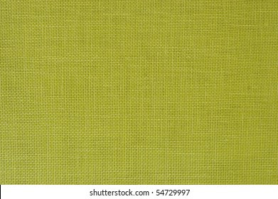 LIME GREEN LINEN FABRIC AS BACKGROUND