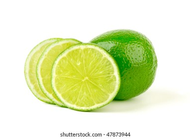 Lime with section
