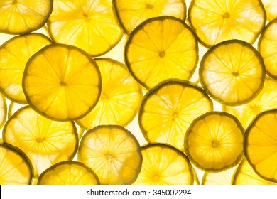 lime slices texture