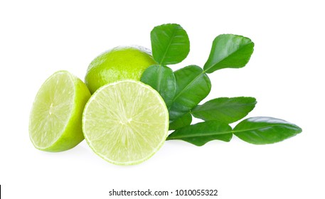 limeade on white background