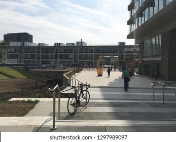 The Limehouse of the Colchester campus, University of Essex, Colchester, Essex, UK. The picture was taken in May 2016.