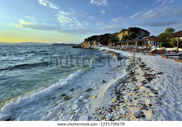 Limenas Thassos Island Greece July 13 Stock Photo Edit Now