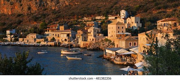 Limeni, Lakonia Peloponnese Greece.