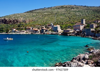 Limeni is a traditional fishing village in Mani, Greece