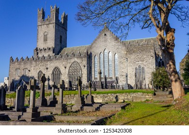 Limerick stone church and cemetery, Limerick, Ireland
