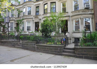 Limestone Brownstone Homes in Brooklyn New York