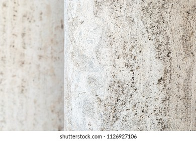 Limestone column background.