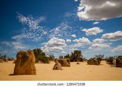Limestone hoodoos created from seashells deposited in a much earlier era. The hoodoos are formed from limestone created from the skeletons of marine creatures eons ago.