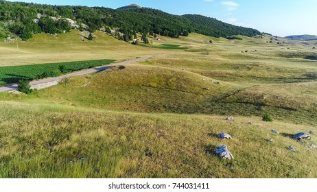 Limestone karst landscape on Durmitor, Montenegro