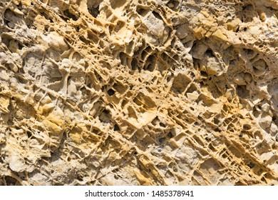 limestone rock, Gran Paradiso National Park. Italian Alps, Italy