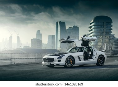 Limited Edition (1/350) Mercedes-Benz SLS AMG GT Final Edition & G63 AMG shot in Baku/Azerbaijan - 10.19.2018