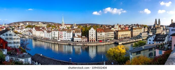 Limmat, Zuerich, Switzerland