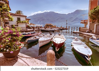 Limone sul Garda is a town in Lombardy (northern Italy), on the shore of Lake Garda.