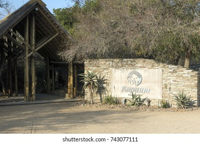 Limpopo, South Africa - 1 August 2017: Kapama Private Game Reserve, with its portfolio of luxury game lodges, offers an exclusive safari experience.