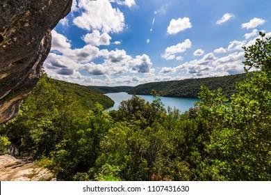 Limski fjord in Croatia
