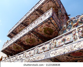 The Lin Fukok Pagoda is built from splinters of dishes of local residents. Dalat Vietnam