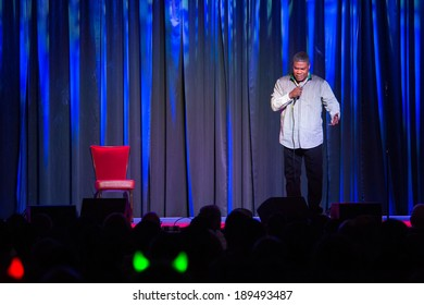 LINCOLN, CA - April 26: Comedian Tracy Morgan performs at  Thunder Valley Casino Resort in Lincoln, California on April 26, 2014